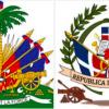Das erste Wappen der Dominikanischen Republik enthielt Teile des Wappen von Haiti