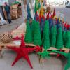 Charamicos, der Weihnachtstraditionsschmuck in der Dominikanischen Republik