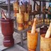 Dominikanische Republik: Der Pilon - Wichtiges Küchenutensil und beliebtes Souvenir