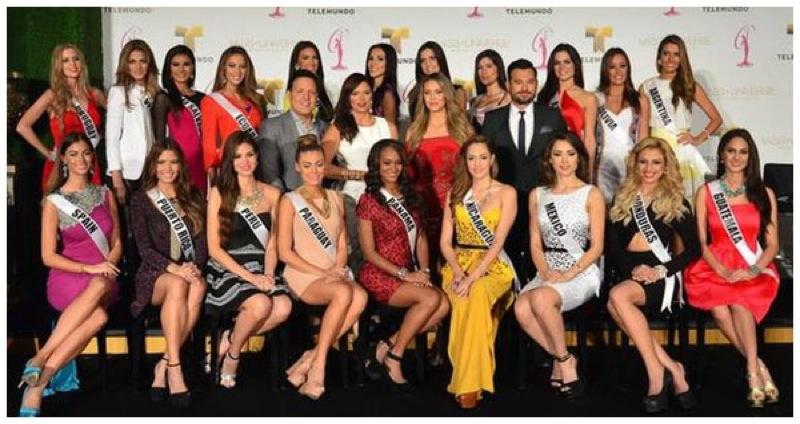 schöne dominikanische Frauen