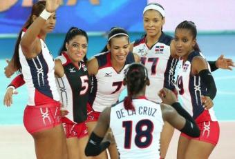 Damen der Dominikanischen Republik