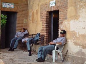 Polizeischlafend