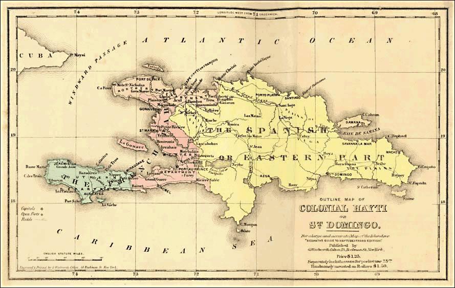 Woher Kommen Die Namen Hispaniola Haiti Und Dominikanische Republik