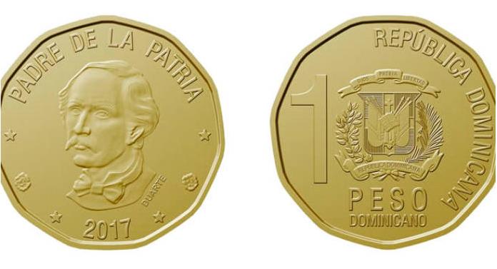 Dominikanische Republik Landeszentralbank Bringt Neue Peso Münze